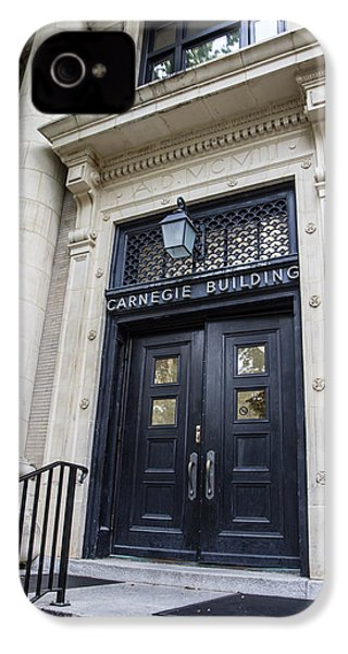 Carnegie Building Penn State  IPhone 4 Case by John McGraw