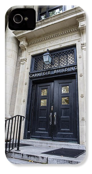 Carnegie Building Penn State  IPhone 4 / 4s Case by John McGraw