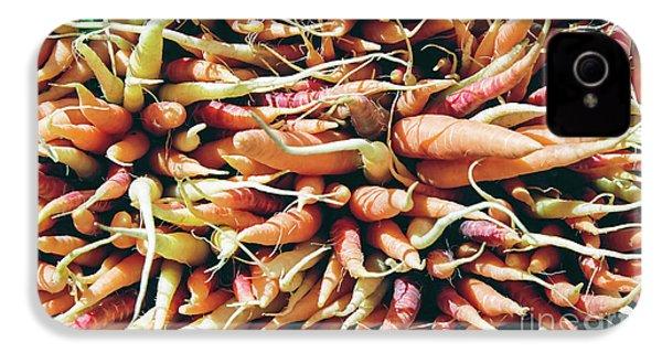 Carrots IPhone 4 Case by Ian MacDonald