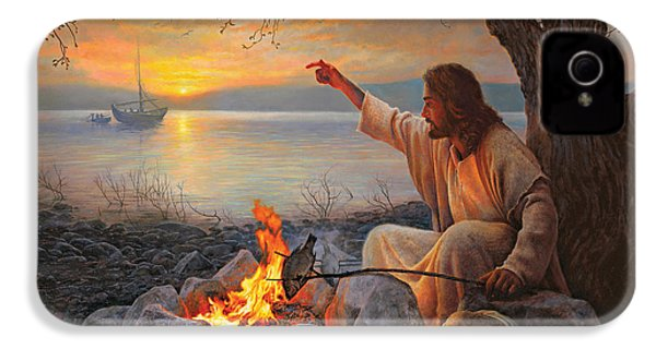 Cast Your Nets On The Right Side IPhone 4 Case by Greg Olsen