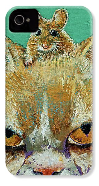 Cat And Mouse IPhone 4 Case