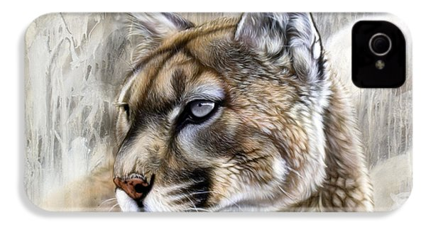 Catamount IPhone 4 / 4s Case by Sandi Baker