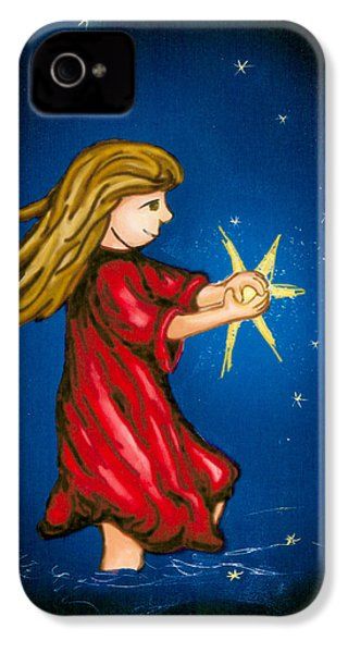 Catching Moonbeams IPhone 4 Case by Jana Nielsen