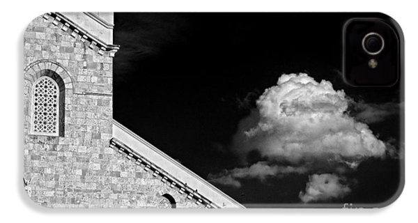 Cathedral And Cloud IPhone 4 Case by Silvia Ganora