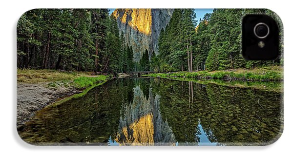 Cathedral Rocks Morning IPhone 4 Case by Peter Tellone
