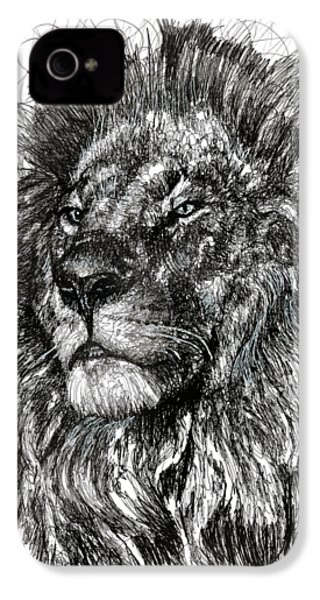 Cecil The Lion IPhone 4 Case by Michael Volpicelli