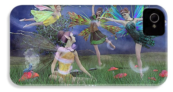 Celebration Of Night Alice And Oz IPhone 4 Case by Betsy Knapp