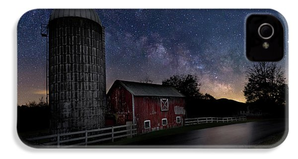 IPhone 4 Case featuring the photograph Celestial Farm by Bill Wakeley