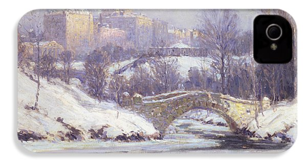 Central Park IPhone 4 Case by Colin Campbell Cooper