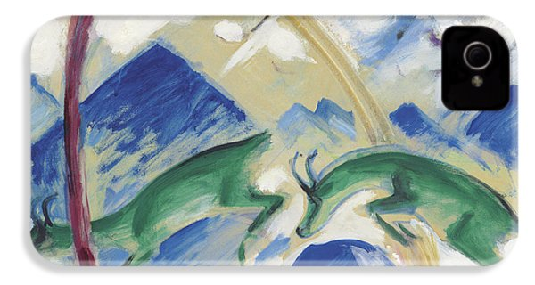 Chamois IPhone 4 Case by Franz Marc