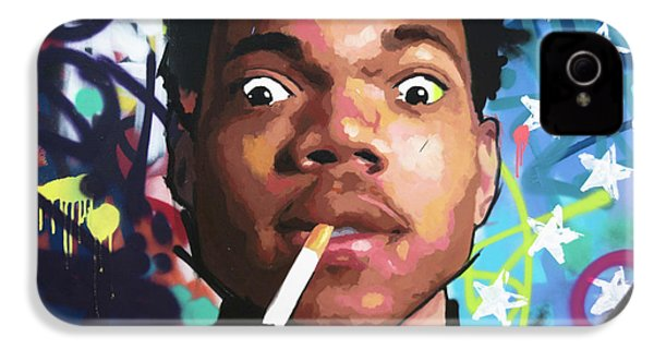 Chance The Rapper IPhone 4 Case by Richard Day