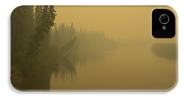 IPhone 4 Case featuring the photograph Chena River by Gary Lengyel