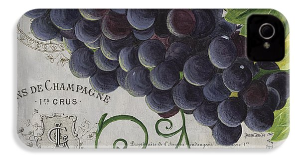 Vins De Champagne 2 IPhone 4 Case by Debbie DeWitt