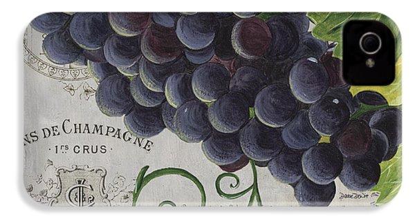 Vins De Champagne 2 IPhone 4 / 4s Case by Debbie DeWitt