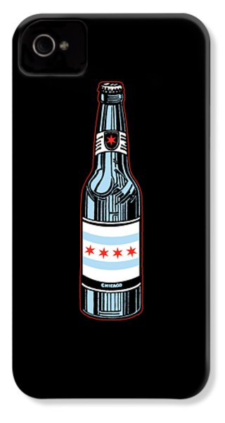 Chicago Beer IPhone 4 Case by Mike Lopez