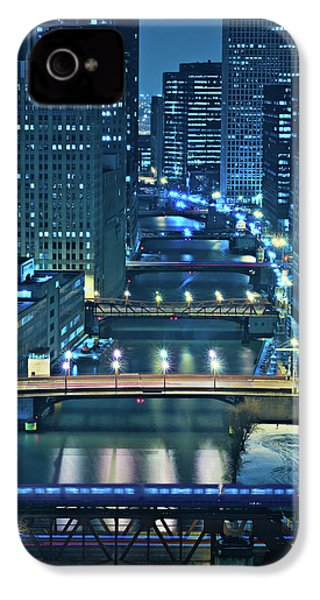 Chicago Bridges IPhone 4 / 4s Case by Steve Gadomski