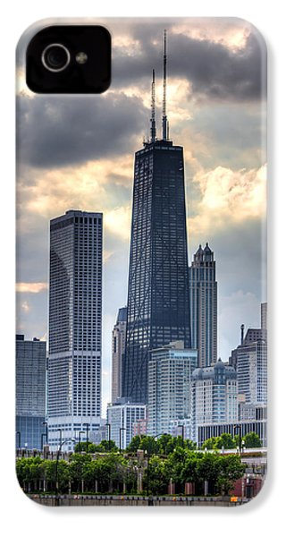Chicago From The Pier IPhone 4 Case by Joshua Ball