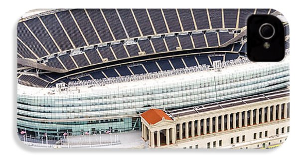 Chicago Soldier Field Aerial Photo IPhone 4 Case