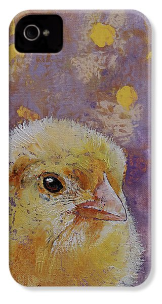 Chick IPhone 4 Case by Michael Creese