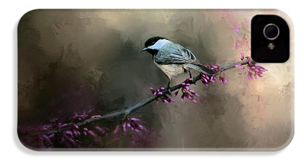 Chickadee In The Light IPhone 4 Case