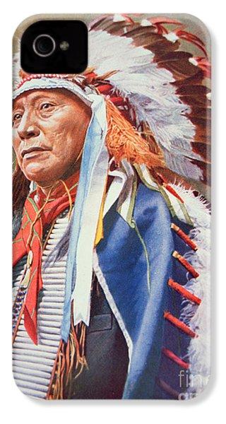 Chief Hollow Horn Bear IPhone 4 Case