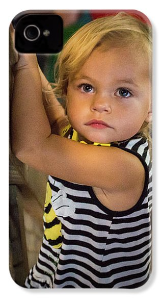 IPhone 4 Case featuring the photograph Child In The Light by Bill Pevlor