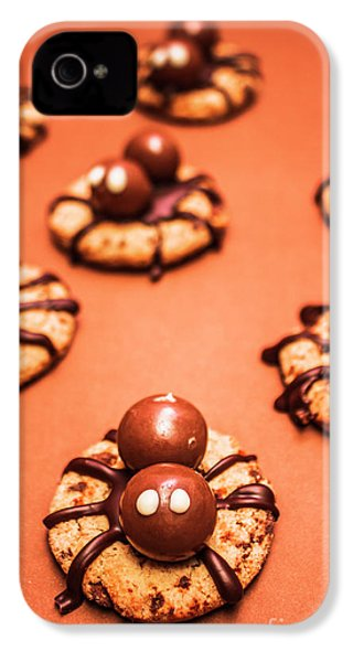 Chocolate Peanut Butter Spider Cookies IPhone 4 Case