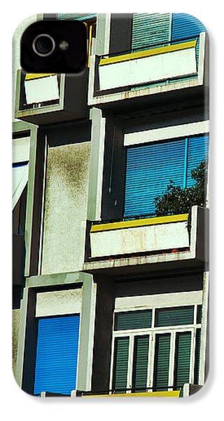 City Balconies IPhone 4 Case by Silvia Ganora