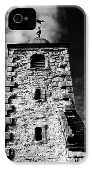 Clackmannan Tollbooth Tower IPhone 4 Case by Jeremy Lavender Photography