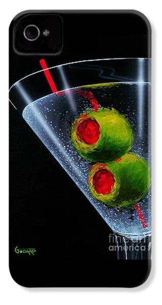 Classic Martini IPhone 4 Case by Michael Godard