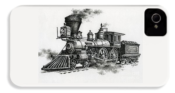 Classic Steam IPhone 4 Case by James Williamson