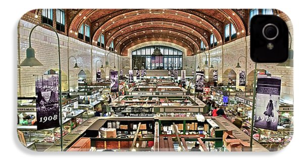 Classic Westside Market IPhone 4 / 4s Case by Frozen in Time Fine Art Photography