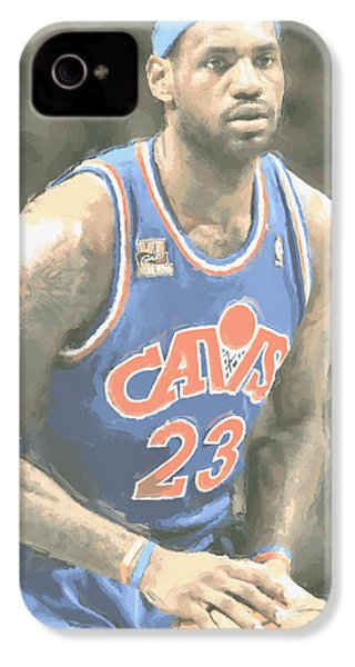 Cleveland Cavaliers Lebron James 1 IPhone 4 Case