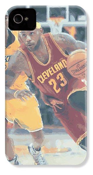 Cleveland Cavaliers Lebron James 3 IPhone 4 Case