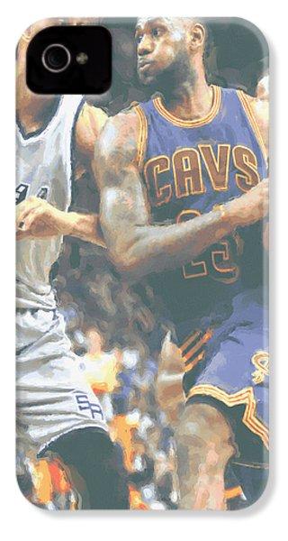 Cleveland Cavaliers Lebron James 4 IPhone 4 Case