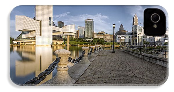 Cleveland Panorama IPhone 4 / 4s Case by James Dean