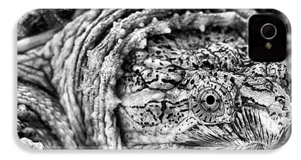 IPhone 4 Case featuring the photograph Closeup Of A Snapping Turtle by JC Findley