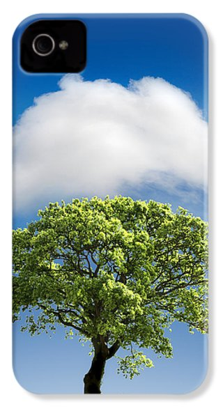 Cloud Cover IPhone 4 Case by Mal Bray