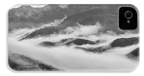 IPhone 4 Case featuring the photograph Clouds In Valley, Sa Pa, 2014 by Hitendra SINKAR