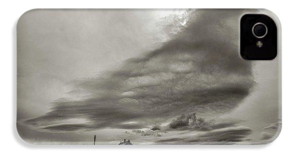 IPhone 4 Case featuring the photograph Cloudy Sky, Karakorum, 2016 by Hitendra SINKAR