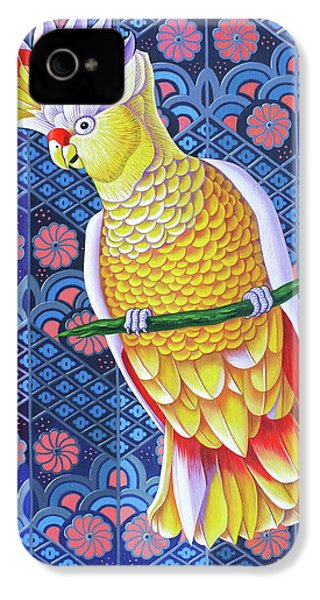 Cockatoo IPhone 4 / 4s Case by Jane Tattersfield