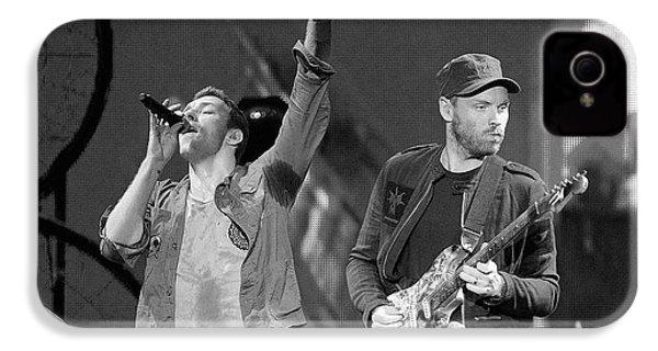 Coldplay 14 IPhone 4 Case by Rafa Rivas