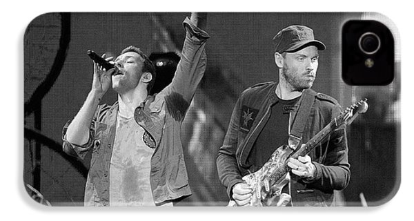Coldplay 14 IPhone 4 Case by Rafa Rivas