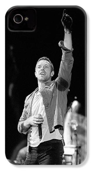 Coldplay 16 IPhone 4 Case by Rafa Rivas