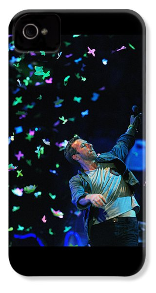 Coldplay1 IPhone 4 Case by Rafa Rivas