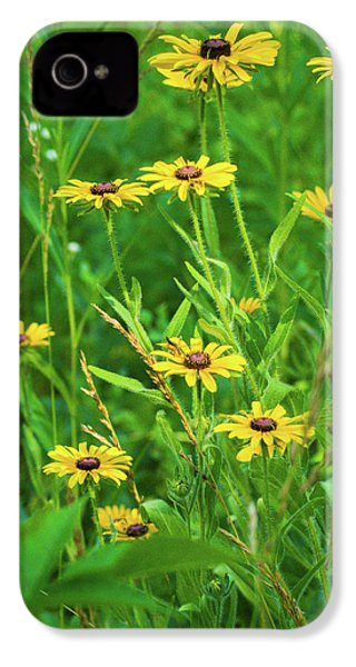 IPhone 4 Case featuring the photograph Collection In The Clearing by Bill Pevlor