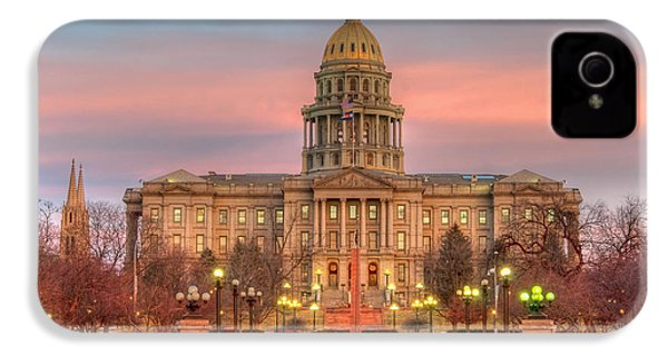 IPhone 4 Case featuring the photograph Colorado Capital by Gary Lengyel
