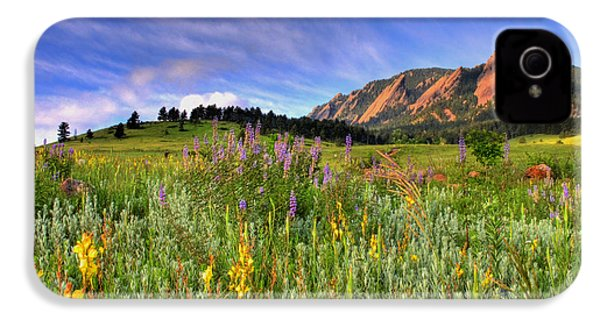Colorado Wildflowers IPhone 4 Case