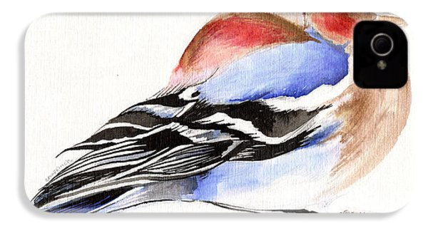 Colorful Chaffinch IPhone 4 Case
