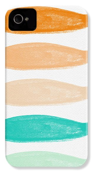 Colorful Fish IPhone 4 Case by Linda Woods